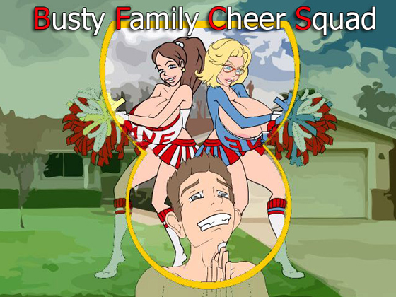 Busty Family Cheer Squad