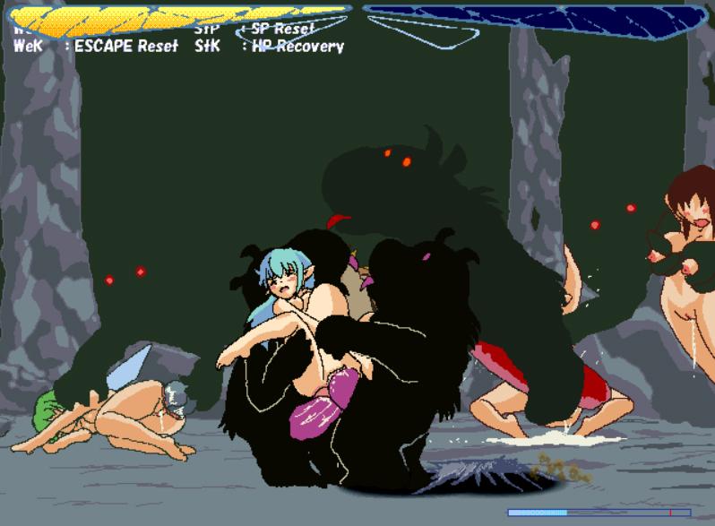 Fairy Fighting Hentai Gif