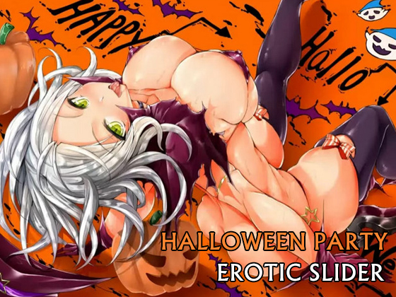 Halloween Party Erotic Slider